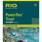 Rio Powerflex Trout Leader 15 foot - 3 Pack
