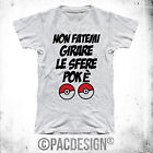 T-SHIRT UOMO WORDS POKEMON GO FUNNY PALLE SFERE WHY SO VINTAGE DK0747A