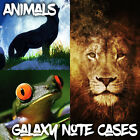 Cases For Samsung Galaxy Note 2 3 4 5 - Animal Pictures