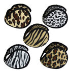Fleece Ear Muff Animal Print Unisex Ear Warmers One Size Fashion Winter Muffs