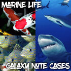 Cases For Samsung Galaxy Note 2 3 4 5 - Marine Life, Fish and Sharks