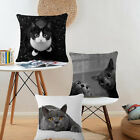 1PC Comfortable 3D Cat Throw Pillow Case Cushion Cover Decorative Pillowcase