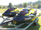 PAIR OF 2015 SEADOO GTR 215 SUPERCHARGED SKIS WITH 28 HOURS WARRANTY TILL 2020