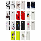 OFFICIAL ROBERT FARKAS ANIMALS 3 LEATHER BOOK WALLET CASE FOR SAMSUNG PHONES 1