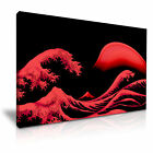 The Great Wave New Design Canvas Japanese Modern Wall Art Home Deco 9 sizes