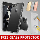 New iPhone 7 Case Transparent Crystal Clear Case Gel TPU Soft Cover Skin