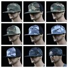 Mens Baseball Cap Snap back Plain Military Army Camouflage Hunting Hip Hop Hat