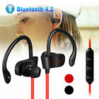 Bluetooth Wireless Sport Headset Stereo Headphone Earphone for Samsung iPhone LG