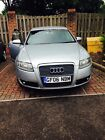 2006 Audi A6 S-line Silver Auto Leather & Sat Nav *spares Or Repairs*