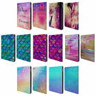 OFFICIAL HAROULITA GLITTER SPARKLE LEATHER BOOK WALLET CASE COVER FOR APPLE iPAD