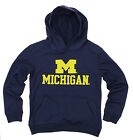 NCAA Youth Michigan Wolverines Performance Hoodie, Navy