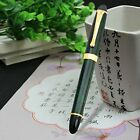JINHAO 450 Green Marble Gold Trim Rollerball Pen, Office Gift Writing Pen