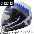 DOJO IMOLA OVERCOME BLUE MOTORCYCLE MOTORBIKE BIKE SCOOTER HELMET CHEAP SALE