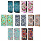 OFFICIAL MONIKA STRIGEL MANDALA LEATHER BOOK CASE FOR APPLE iPOD TOUCH MP3