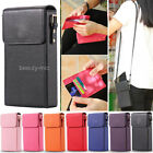 Luxury Wallet Flip Leather Case Shoulder Bag Card Slots Handbag Case For Phones