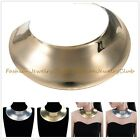 Chunky Choker Necklace Gold Silver Chain Collar Statement Bib Jewelry Party New