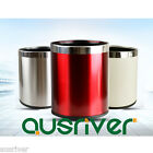 Stainless Steel House Kitchen Durable Garbage Trash Can Rubbish Bin No-Lid 9L