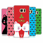HEAD CASE DESIGNS CHRISTMAS CATS HARD BACK CASE FOR SAMSUNG GALAXY NOTE7