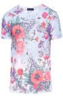 Mens Wild Flower T Shirt Friend Or Faux Sublimation Round Neck Jersey Tee Top
