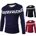 Casual Men's  knitting Autumn Winter Fashion Sweaters Long Sleeve Tops Pullover