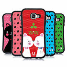 HEAD CASE DESIGNS CHRISTMAS CATS HYBRID CASE FOR SAMSUNG GALAXY A7 (2016)