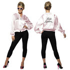 Smiffy's Womens Offically Licenced Grease Pink Ladies Jacket Costume 1950s