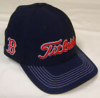 New Titleist MLB Fitted Boston Red Sox Golf Cap Hat, M/L or L/XL