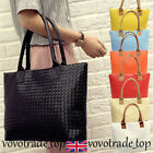 Women Faux Leather Handbag Large Casual Hobo Tote Bag Shoulder Satchel Purse New
