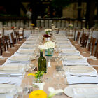 Rustic Burlap Table Runner Wedding Party Banquet Decoration 5+ Colors!