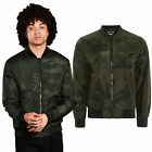 Brave Soul Mens Entwistle Bomber New Designer Camouflage MA1 Harrington Coat