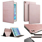 Rose Gold Flip PU Leather Smart Stand Case Cover for iPad 2 3 4 5 /Air/Mini /Pro