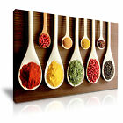 FOOD & DRINK Spice Pepper Canvas Framed Printed Wall Art 55 ~ More Size