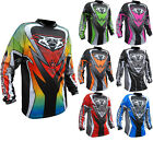 Wulf Attack Cub Motocross MX Jersey Enduro Off Road Adventure Dirt Breathable
