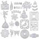 Christmas Metal DIY Cutting Dies Stencil For Scrapbooking Embossing Card Decor