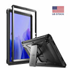 For AT&T Trek 2 HD 8 (6461A) PU Leather Case Stand Cover Stylus Screen Protector