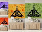Lord Buddha Wall Hanging Indian Cotton Poster Size Tapestry Dorm Decor Throw Art