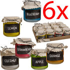 6 X 7.5CM SCENTED CANDLES IN GLASS POT FRAGRANCE HOME CANDLE GIFT SET MOOD