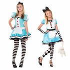Christys Dress Teens Clever Alice In Wonderland Girls Outfit Fancy Dress Costume