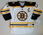 ZDENO CHARA #33 BOSTON BRUINS REEBOK REPLICA JERSEY YOUTH S/M L/XL WHITE NWT $37.99 USD on eBay