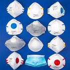 QUALITY SILVERLINE FOLD FLAT/MOULDED/VALVED DUST MASKS Comfort PPE DIY Safety