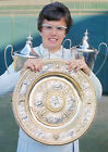 Art print POSTER Billie Jean King with Trophies