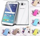 ATL Transparent Crystal Clear Gel TPU Case & Screen Protector For Samsung Galaxy