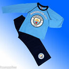 Boys Authentic Official Manchester City FC Pyjamas Age 4-12 Years #MCFC