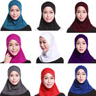 Women's Under Scarf  Hat Cap Bone Bonnet Ninja Hijab Islamic Neck Cover Muslim