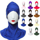 Islamic Muslim Women's Head Scarf  Underscarf Hijab Full Cover Headwrap Bonnet