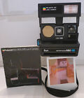 Polaroid Instant Camera Sun 660 Autofocus SE Special Edition +User Manual TESTED