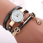2016 Fashion Women's Ladies Watch Stainless Steel Leather Bracelet Wrist Watches image