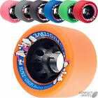 SURE GRIP Fugitive Rollerskate wheels Roller Derby 62mm Choose Colour/Hardness