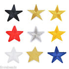Fashion 10PCs Star Pattern Patch Iron On Garment Dress Jeans Cloth Sewing Craft