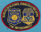 UNTOUCHABLES ATF ALCOHOL TOBACCO FIREARMS POLICE SHOULDER PATCH
